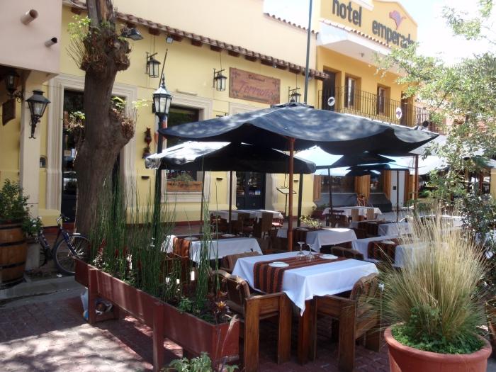 Terruño, um dos bons restaurantes de Cafayate