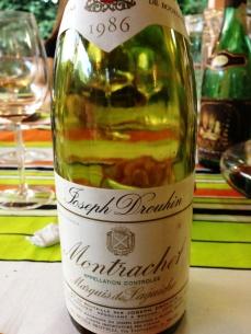 Montrachet é tudo de bom!
