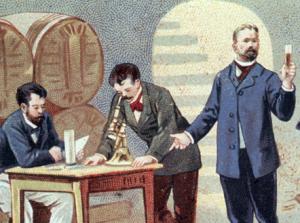Pasteur estudou a fermentação alcoólica