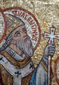 MOSAIC OF ST. VALENTINE SEEN IN JERUSALEM