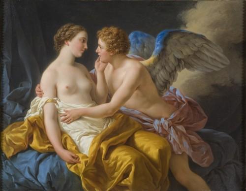 Amor e psyche - Louis Jean François Lagreneé