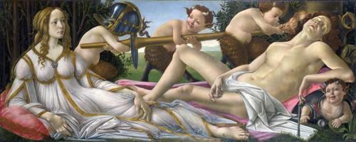 Venus e Marte - Botticelli