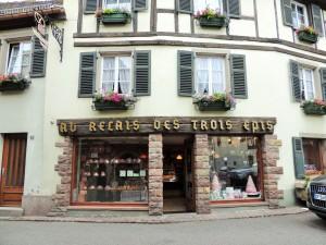 Village Niedermorschwihr -loja da famosa Christine Ferber